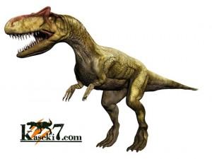 アロサウルス(化石セブンオリジナルCG)