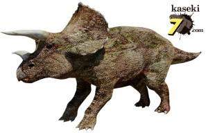 最後の角竜トリケラトプス(化石セブンオリジナルCG)