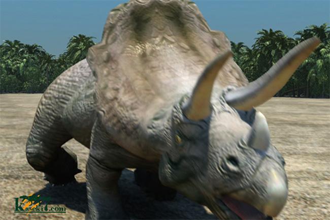 トリケラトプス画像