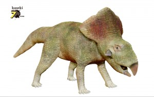 プロトケラトプス(化石セブンオリジナルCG)