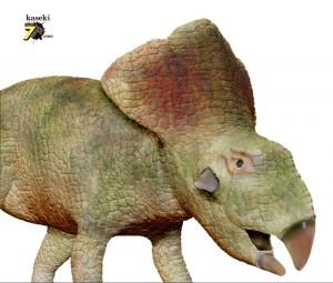 卵化石が最初に見つかった恐竜、プロトケラトプス
