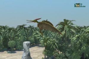 空飛ぶ爬虫類こと、翼竜(化石セブンオリジナルCG)