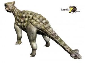装甲で覆われたアンキロサウルス(Ankylosaurus) 装甲で覆われたアンキロサウルス(An