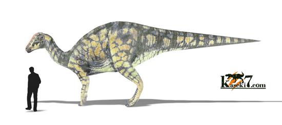 ハドロサウルス画像