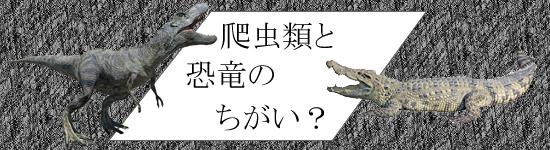 生物分類から考えてみよう!恐竜とは虫類のちがい