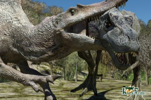 T-rex VS スピノサウルス