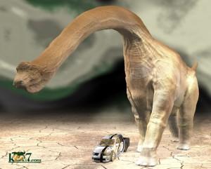竜脚類恐竜