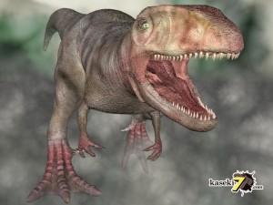カルカロドントサウルス(化石セブンオリジナルCG)