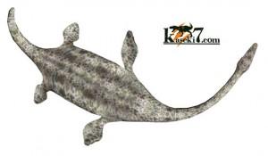 ジュラ紀の海で栄えたプレシオサウルス