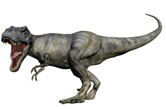 前脚が小さいティラノサウルス