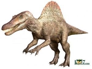 最大サイズ17m、スピノサウルス恐竜