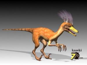 ヴェロキラプトル(化石セブンオリジナルCG)