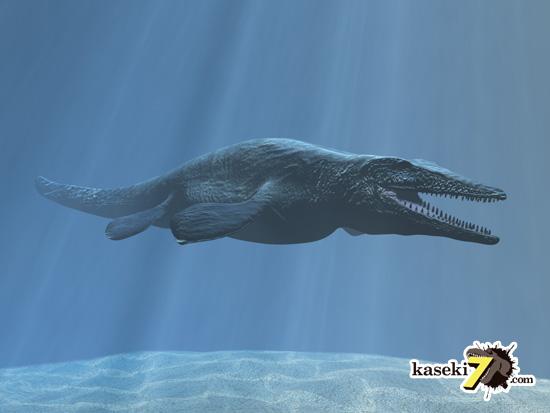 海のティラノサウルスことモササウルス1