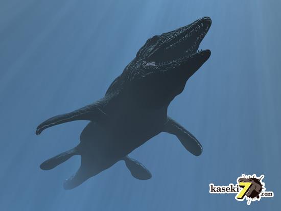 海のティラノサウルスことモササウルス3