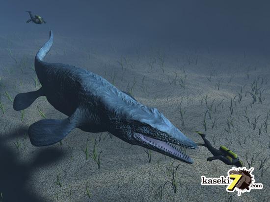 海のティラノサウルスことモササウルス7
