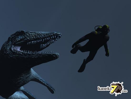 海のティラノサウルスことモササウルス8
