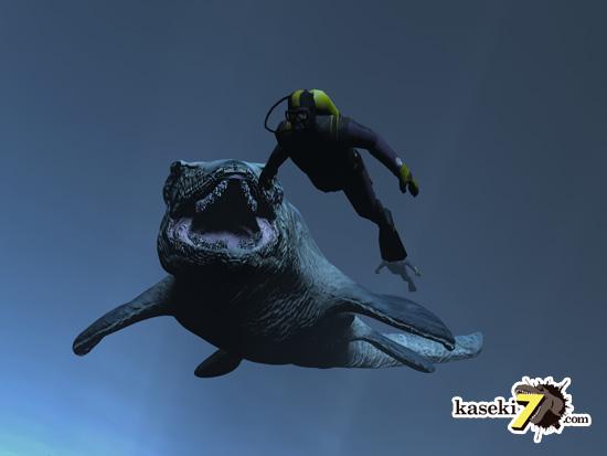 海のティラノサウルスことモササウルス9