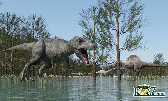 嗅覚が強いティラノサウルス