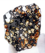 ベストクオリティ、おすすめ!黄と緑の中間色、オリーブ色を呈するかんらん石にご注目ください!2016年に発見された新しいパラサイト隕石、ケニヤ産パラサイト隕石(本体防錆処理済み)