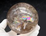 鉱物コレクター必見!なんと1キロ超える、凄まじき超特大の方解石(カルサイト)。七色の閃光を放ちます!