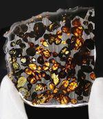 ナイスサイズ、極めて上質なカンラン石を含む、ケニア産のパラサイト隕石