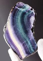 人気!色合いの異なる複数の層から成る鉱物、レインボーフローライト(fluorite)の上質標本