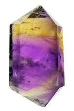 最高の天然のアメトリン(Ametrine)が登場。この紫と黄の濃さ、鮮やかさを御覧ください。