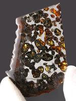 かんらん石の保存状態が素晴らしい!2016年に発見された新しいパラサイト隕石、ケニヤ産パラサイト隕石(本体防錆処理済み)