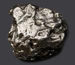 アルゼンチン・チャコ州で採集された、世界的に有名な鉄隕石、カンポ・デル・シエロ