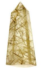 コレクション価値が非常に高いルチル化したクォーツ、ゴールデンルチルクォーツの天然結晶