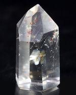 鉱物の王様的存在、無色透明の天然石英(quartz)結晶、ロッククリスタル(rock crystal)