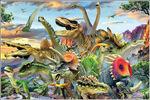 立体的!恐竜3Dジグソーパズル150ピース(本物化石1個つき、送料無料、ラッピング無料)