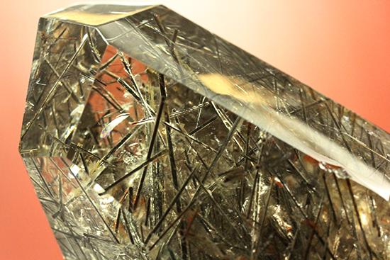 針状結晶の世界!透明度抜群の幻想的なトルマリンクオーツ(Tourmilated Quarts)/ 【ot624】