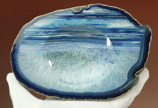 青色のバリエーションはこんなにあった!鉱物メノウ(小物入れとしても使用できます)/ 【ot791】