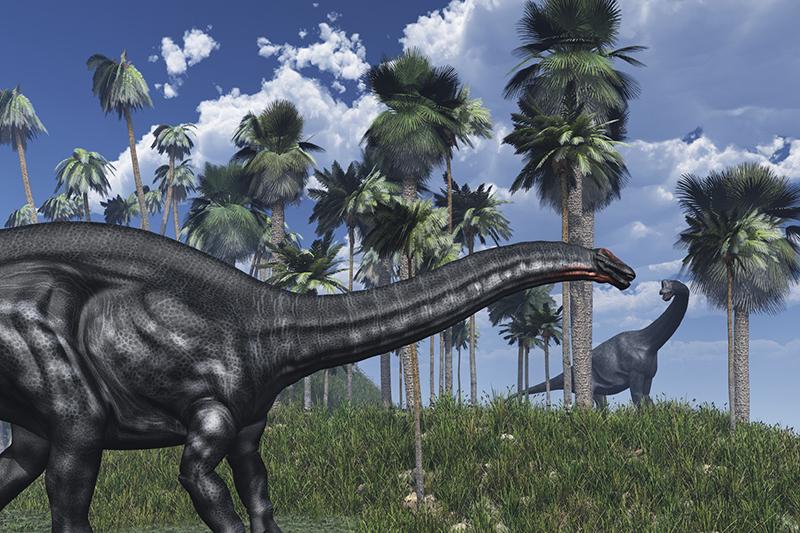 巨大恐竜の世界