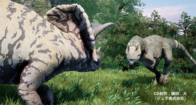 ティラノサウルス・レックスVSトリケラトプス