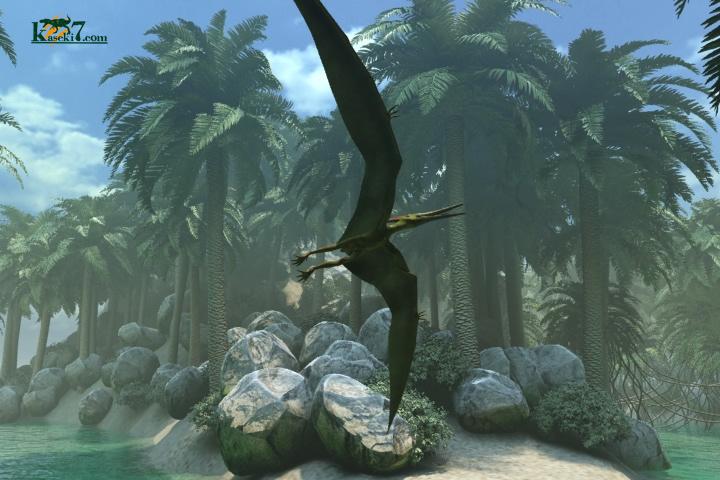 空飛ぶ翼竜プテラノドン
