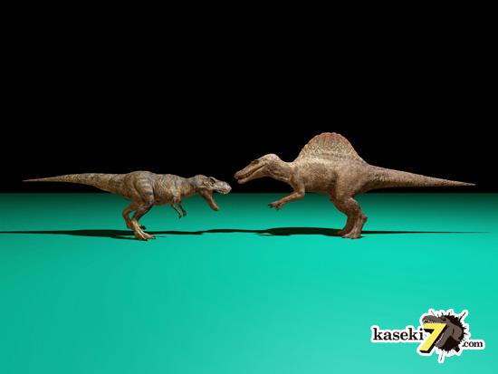 スピノサウルスでかいなぁ