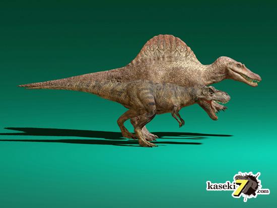 スピノサウルスはやっぱりデカいなぁ