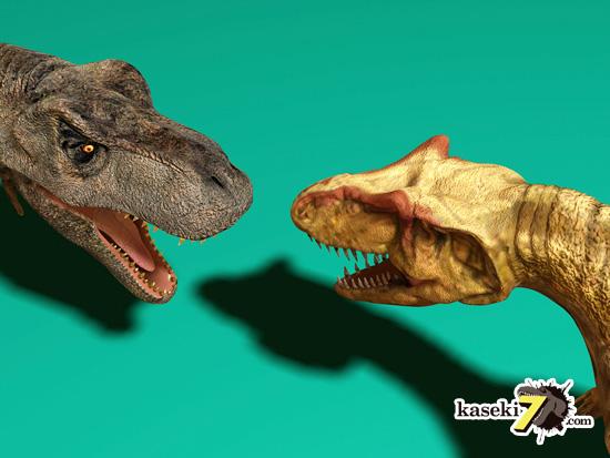 アロサウルスは比較的華奢2