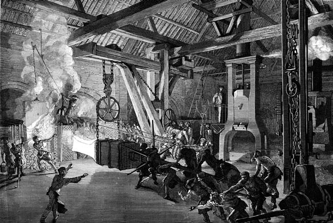 産業革命の原動力となったのは石...