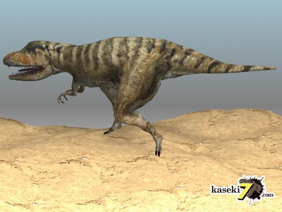 タルボサウルスCG画像2