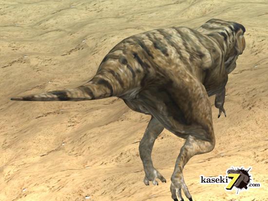 タルボサウルスCG画像3