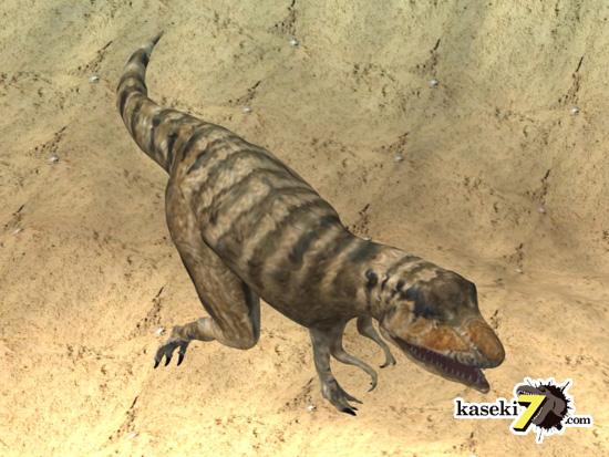 タルボサウルスCG画像4