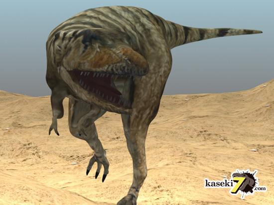 タルボサウルスCG画像5