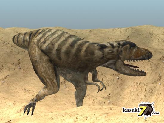 タルボサウルスCG画像6