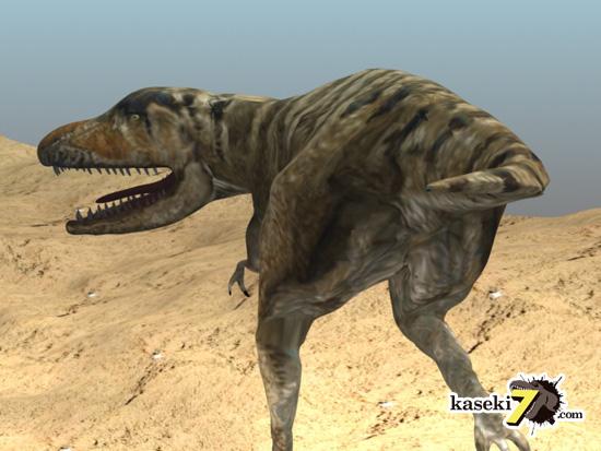 タルボサウルスCG画像7